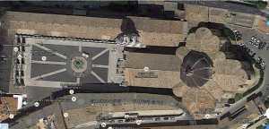 Loreto 2 Basilika von oben Google