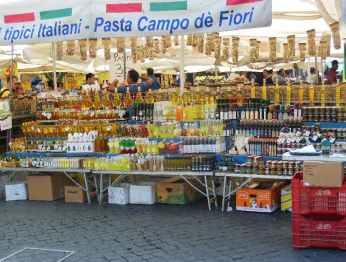Rom 14 - Stadtansichten 6 - Campo de Fiori